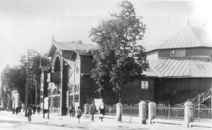 Circus building in Gomel in 1920s